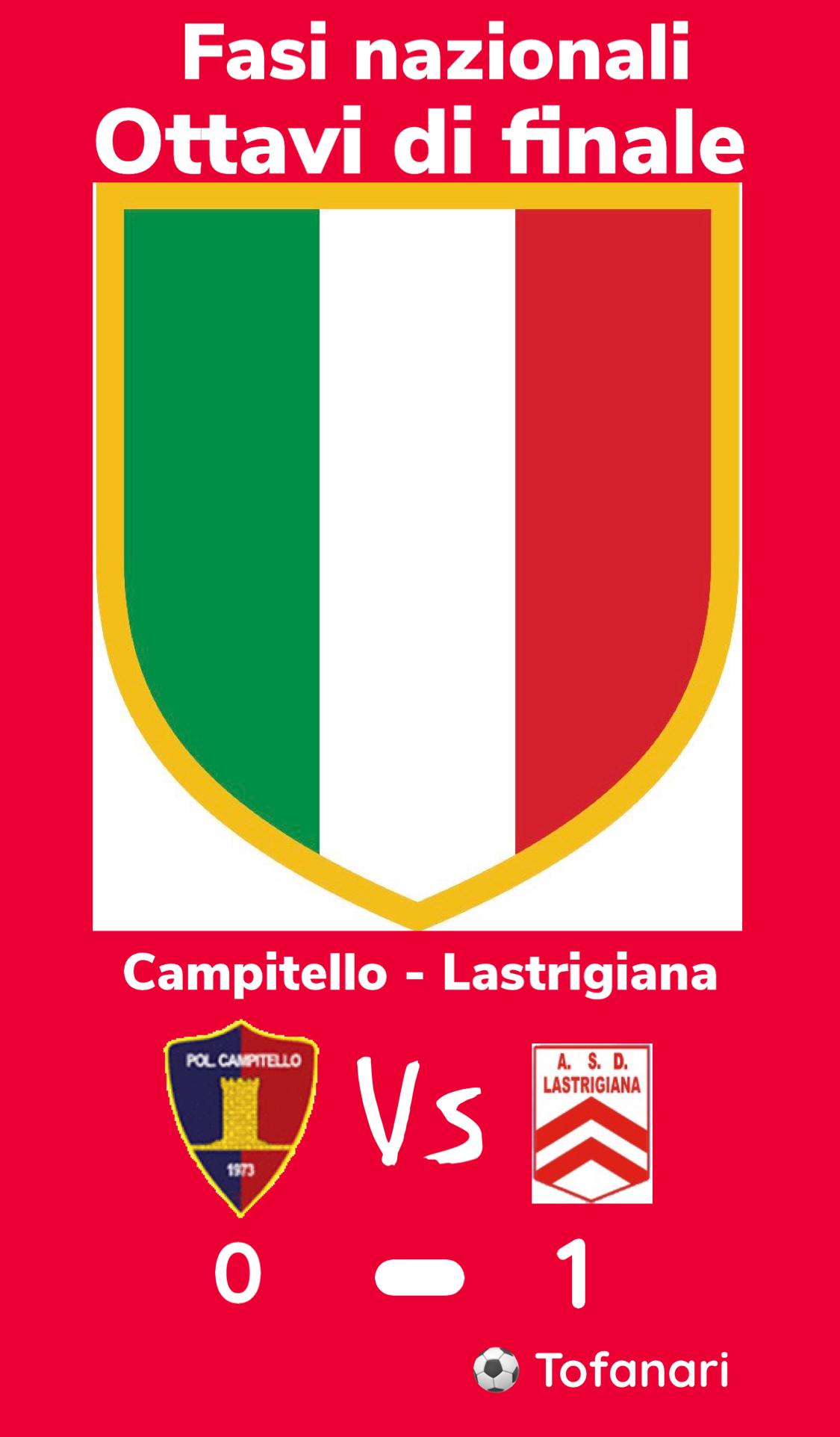 JUNIORES: SIAMO NELLE PRIME OTTO D'ITALIA!!!