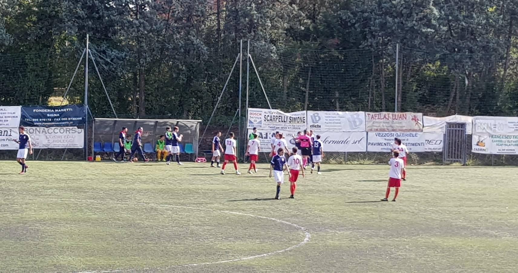 Lastrigiana sconfitta 0-1 in casa dalla Cattolica Virtus