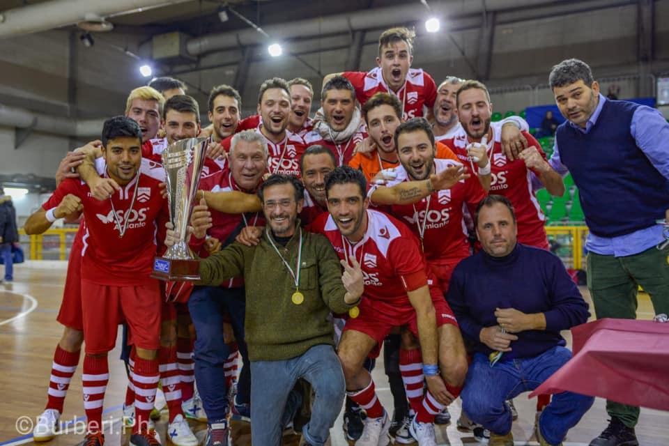 La Coppa Toscana C1 è della Lastrigiana Calcio a 5! Le immagini del trionfo biancorosso