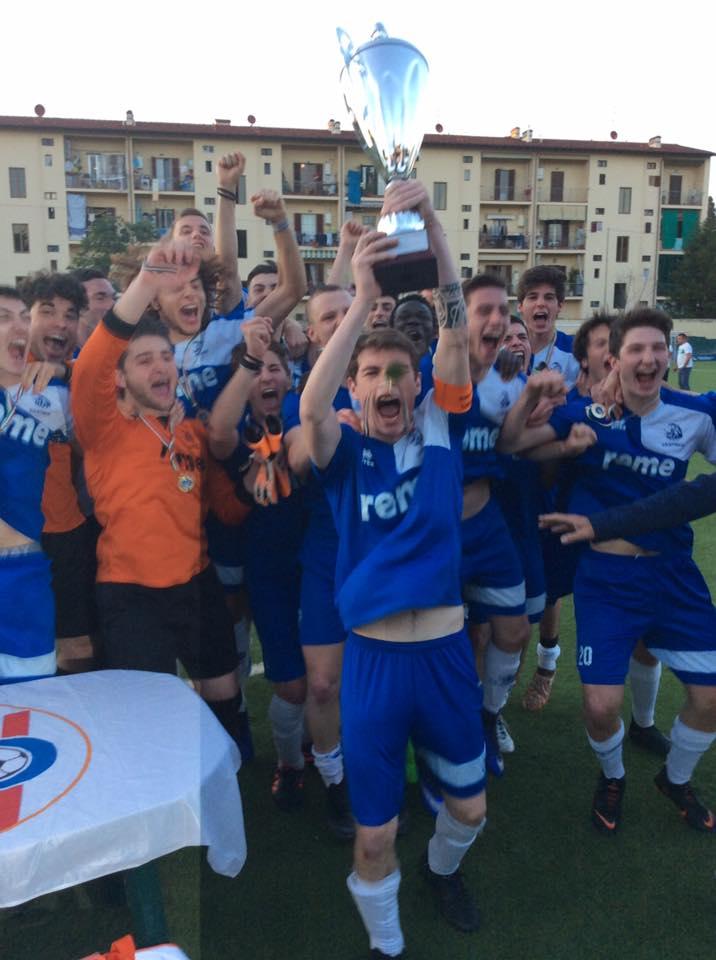 La Lastrigiana si congratula con l'Affrico per la conquista della Coppa Toscana