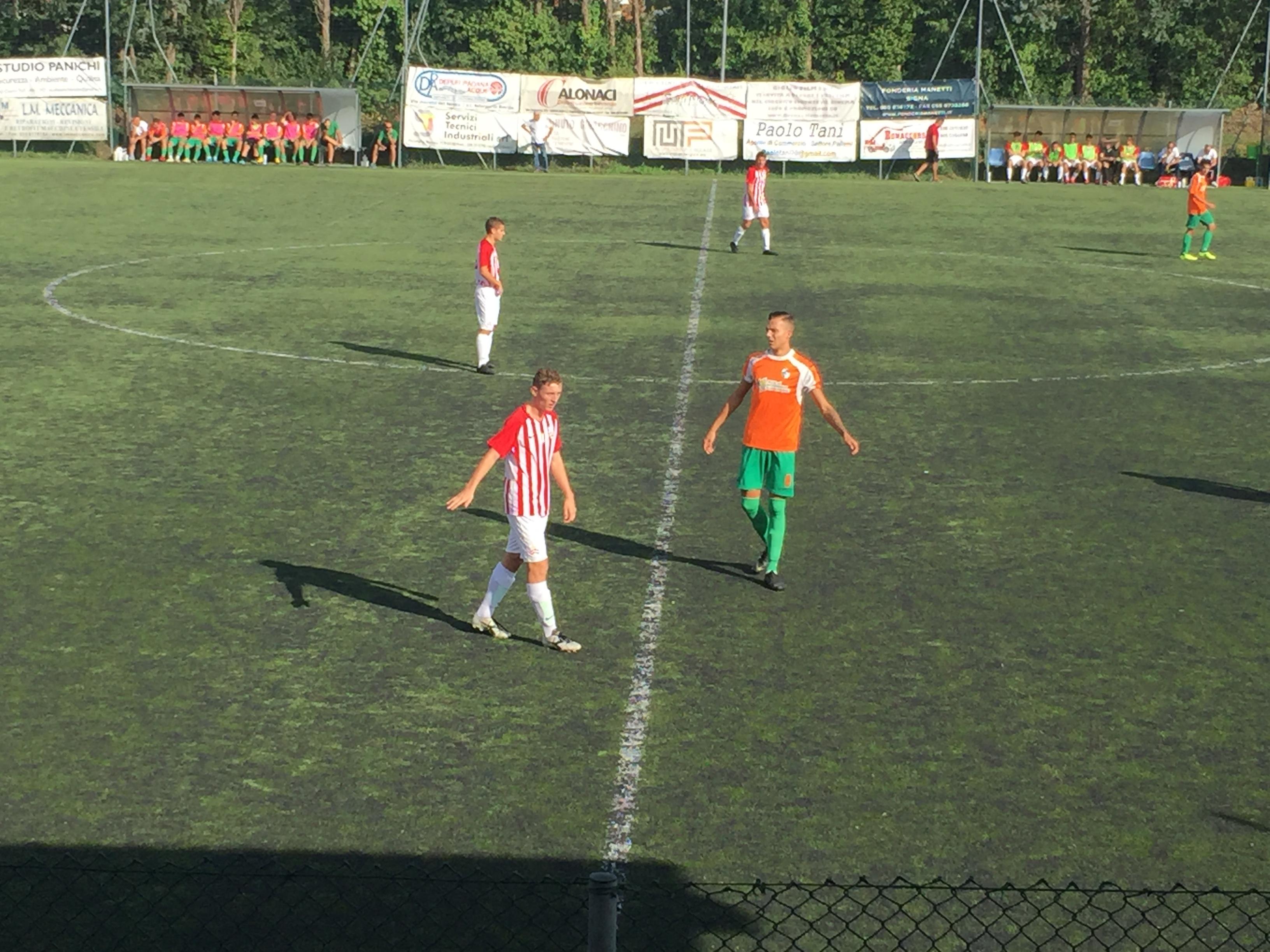 Juniores vincenti contro l'Atletico Cenaia